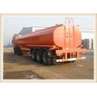 Best Bpw axle fuel tank 40000 litres Fuel Tanker Trailer with 12R22.5 tubeless tyre wholesale