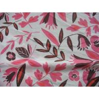 China Silk Cotton Voile Fabric on sale