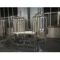 Best Mini Craft Brewing Equipment With Hot Water Tank , Fermentation Equipment wholesale