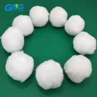 Best Polyester Water Filter Media Cleaning 25mm 30mm 40mm Dimension Available wholesale