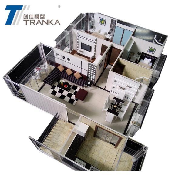Cheap Hot sale Architecture Interior Model for Construction Company , Condo Model for sale