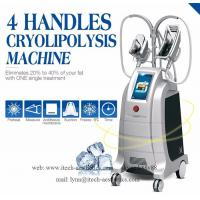 Best Innovative Cryolipolysis Freeze Fat Reduction, 4 Handles Work Simultaneously Cryotherapy Fat Freezing Machine wholesale