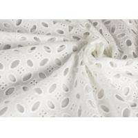 Best Heavy Vintage Eyelet 100% Cotton Lace Fabric Wholesale By The Yard wholesale