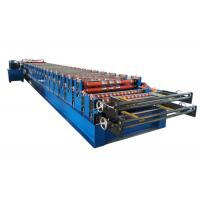 Best Double layer roll forming machine metal roofing corrugated steel sheet wall panel tile making machine wholesale
