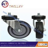 Best TPR Thickening Castors Shopping Trolley Accessories / Spare Parts Ground Universal wholesale