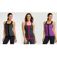 Best Workout Vest Running Wear Womens Sport Tank Tops in Grey , Blue , Red , Rose wholesale
