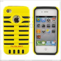 Best Mic Microphone Hard Case for Apple iPhone 4G--P-Iphn4shcsc001 wholesale