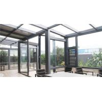 Best High End Garden Aluminum Sun Room , Powder Coated Aluminium Glass House wholesale