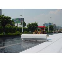 Best White Non Woven Geotextile fabric underlayment 0.68 - 0.92MM Thickness wholesale