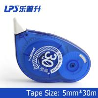 Buy cheap Titanium Dioxide Colorful Decorative Correction Tape Plastic 30m 90162 product