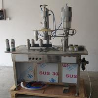Best Semi Automatic Aerosol Cosmetic Filling Machine 300-500ml Aerosol Filling Machine wholesale