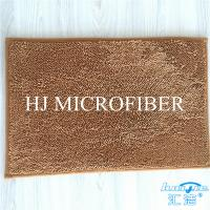 China Super Soft Microfiber Mat Chenille Bath Mat Floor Cushion Grey Color Super Absorbent on sale