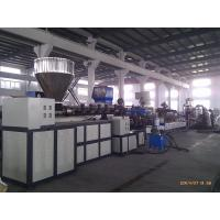 Best Double Stage HDPE Plastic Water Ring Plastic Pelletizing Machine for Plastic Extrusion Line wholesale