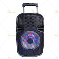 China Customized 8 Speaker Box Enclosure / Powered DJ Speakers CE Approve on sale