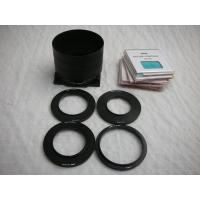 Best SINAR 100 Filter Holder/Hood + 4 Adapter Rings + 20 Color Control Filters wholesale