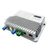 Best Aluminum Casing 1550nm Outdoor Optical Node Support SNMP 12V/1.5A Power Adatper wholesale