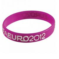 China 202×12×2MM Raised Logo Silicone Wrist Bands Healthy Sport For Teenager Gift on sale