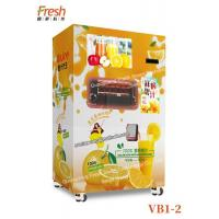 Best Orange Juice Vending Machine with Online software Coin Bill Credit Card Orange Juice Vending Machine for Sale Automatic wholesale