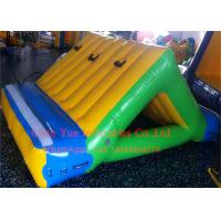 Best Business Rental 0.9mm PVC Inflatable Water Sports 3 X 2m Water Slide With CE Pump wholesale