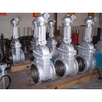 China Powerful 48 Inch Gate Valve / Flange End Stainless Steel Gate Valve on sale
