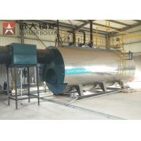 Best Automatic Industrial WNS Gas Oil Fire Tube Boiler Wet Back Structure wholesale