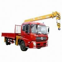 Best Truck Mounted Crane with 300L Oil Tank Capacity and 3,000mm Installation Space wholesale
