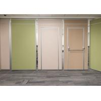 Best Insulation Acoustic Movable Divider Walls , Movable Office Walls Easy Installation wholesale
