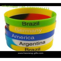 Best Cheap wholesale custom silicone wristband/bracelet 190*12*2mm any color wholesale