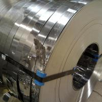 China 201 / 304 / 316L / 202 Stainless Steel Slit Coil Rolled ASTM A537 , ASTM A302 Standard Coil and Slit Strips on sale