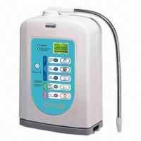 Best Alkaline Water Ionizer with 5 Plates Titanium and 2 Stages Extra Pre Filter wholesale