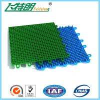 Cheap Colored Outdoor PP Suspended Interlocking Rubber Floor Tiles Modular Hockey Flooring for sale