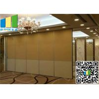 Best Sliding Acoustic Fabric Panels Hotel Office Movable Partition wall wholesale