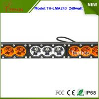 "Cheap Stainless bracket 43.2"" LED lighting bar Cree 240w truck roof off road tractor for sale"