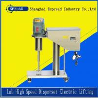 China electric lifting lab high speed disperser on sale