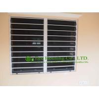 China Aluminum Safe Glass Louvered windows with tinted glass, hurricane-proof Louvered windows on sale