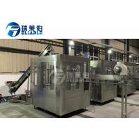 China Sport / Energy Drink Round Bottle Carbonated Drink Filling Machine For Small Capacity on sale