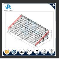 China Safe Plastic Stadium Seats Steel Frame Volleyball Tribune For Temporary Use on sale