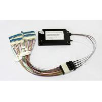 Best 40 Channels C21-C60 Dual Fiber Athermal AWG Module With 1U Rack Mount, LC/UPC wholesale