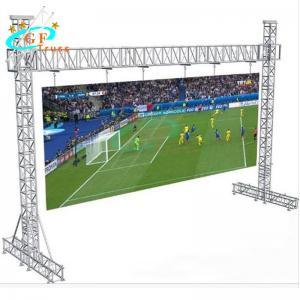 Best 595lbs Aluminium Goal Post Truss System For Hanging LED Screen Lightings wholesale