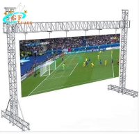 Buy cheap 595lbs Aluminium Goal Post Truss System For Hanging LED Screen Lightings from wholesalers