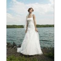 China 2012 Newest Design Strapless White Orgenza Bridal Dresses lmo018 on sale