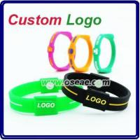 Best Silicone Power/Energy Balance Bracelet Wristband Bands wholesale