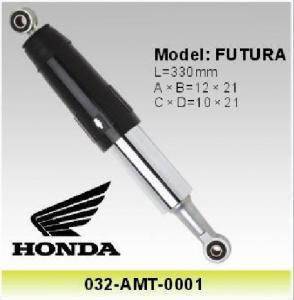 Honda Futura 110 Motorcycle Shock Absorber , Motor Spare Parts 330mm Shocks