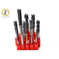 Extra Long Carbide End Mill For Router , Metal Lathe Cutting Tools HRC40-65