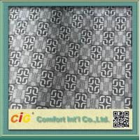 China Knitted Chinese Printing Auto Upholstery Fabric Grey  For Seat Cover / Lining on sale