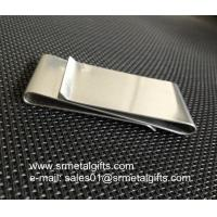 China S.S. Double-Sided Smart Money Clip Credit Card Holder For Men on sale