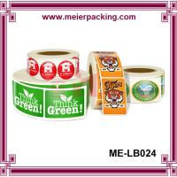 China Label Sticker China Supplier/Roll Labels & Stickers/Paper and vinyl/decal label printing  ME-LB024 on sale