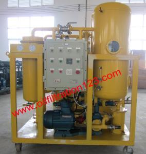 China Ex Strong Demulsify Vacuum Turbine Oil filtration Machine,600L/H On-site Working Used Turbine Oil Regeneration Plant on sale