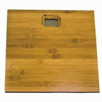 Best Bamboo Bathroom Scale with LCD Screen and 2.5 to 150kg Capacity wholesale