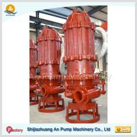 Best 12 Horizontal Submersible slurry pump with cutter wholesale